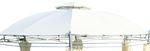 Dachplane wasserfest für Gartenpavillon für 7073-A - kein Umtausch oder Rückgaberecht - Bild 1