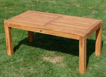 TEAK Bigfuss Gartentisch 180x90 JAV-BIGFUSS180 – Bild 2