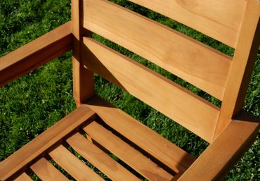 ECHT TEAK Design Gartenstuhl Stapelstuhl JAV-KINGSTON stabelbar sehr robust  – Bild 2