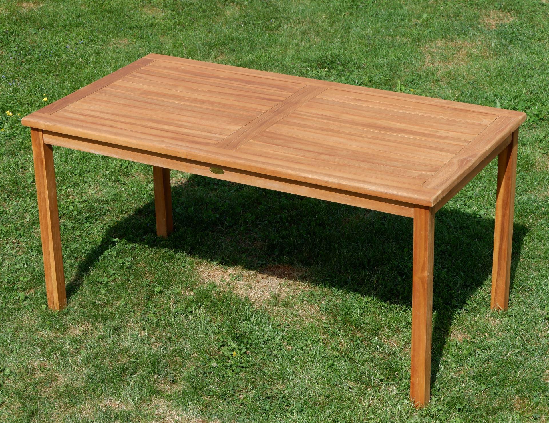 Tisch 150x80.Teak Set Gartengarnitur Alpen Tisch 150x80 Cm 6 Tobago Sessel Serie Jav