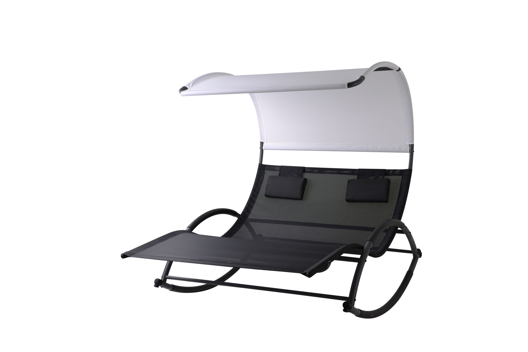 doppel schaukelliege sonnenliege aus atmungsaktivem. Black Bedroom Furniture Sets. Home Design Ideas