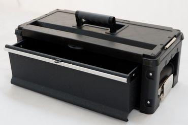Erweiterungsbox Werkzeugkiste mit 1 Lade für unsere schwarzen Trolleys – Bild 2