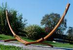 350cm Hängemattengestell aus Holz Lärche ohne Hängematte (nur Gestell) komplett mit Schrauben - Bild 5