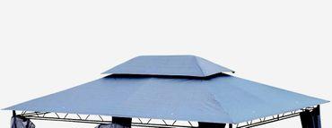 Dachplane für Gartenpavillon 3x4m wasserfest anthrazit für Modell: 7075 - kein Umtausch oder Rückgaberecht