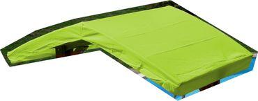 Dachstoff für Aruba / Kuredo grün