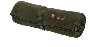 PINEWOOD Fleecedecke COMFY grün 150x100 cm kompakt, weich und warm – Bild 1