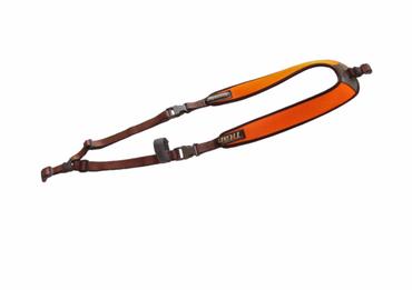 Niggeloh Rucksack-Gewehrgurt Titan II neopren Signal-Orange Gewehrriemen