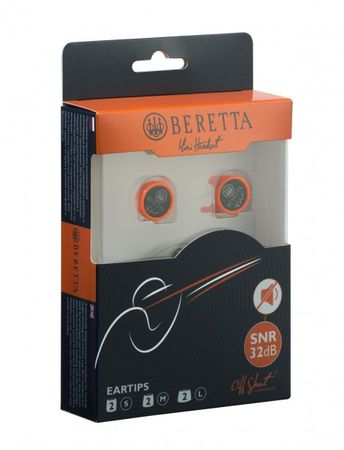 Beretta Gehörschutz Ohrenstöpsel Ear Plugs Mini Head-Set Passiv ORANGE – Bild 6