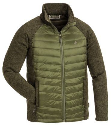 PINEWOOD Steppjacke Herren Padded Gabriel Outdoor Schwarz Orange Grün – Bild 4