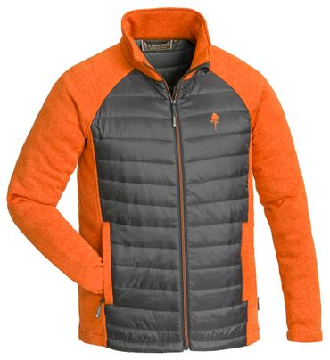 PINEWOOD Steppjacke Herren Padded Gabriel Outdoor Schwarz Orange Grün – Bild 2