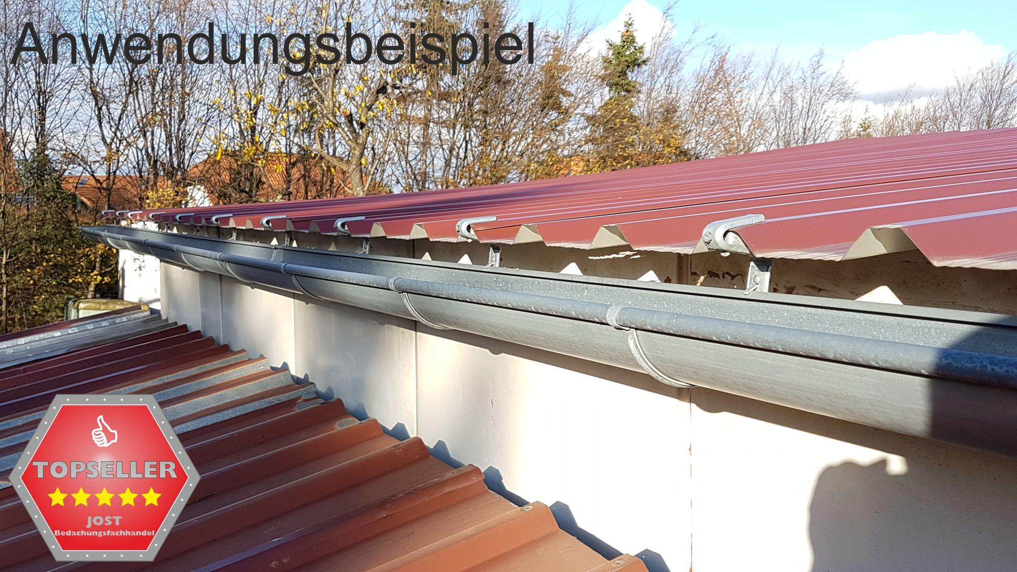 25st verz rinnenhalter trapezblech wellplatten 333 6 tlg dachrinne und fallrohre rinnenhalter. Black Bedroom Furniture Sets. Home Design Ideas