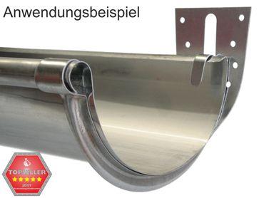 50St verzinkt Stirnbretthalter Stirnbrettrinneneisen 333/6-tlg. – Bild 2
