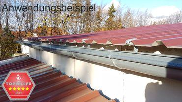 verzinkt Rinnenhalter Trapezblech Wellplatten 6-tlg./333  – Bild 7