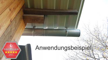 verzinkt Rinnenhalter Trapezblech Wellplatten 6-tlg./333  – Bild 8