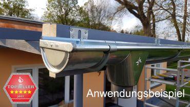 verzinkt Stirnbretthalter Stirnbrettrinneneisen Rinnenhalter 6-tlg./333  – Bild 5