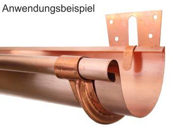 Kupfer Stirnbretthalter Stirnbrettrinneneisen Rinnenhalter 250/8-tlg.  – Bild 2