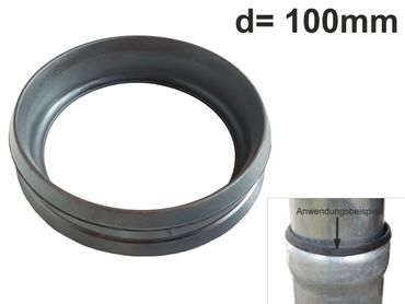 Standrohrgummi d=100mm für LORO-X Rohre – Bild 1