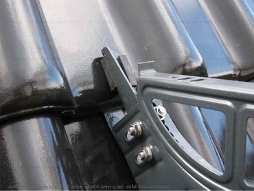 Verzinkt Universal Dachtritt   800 (0,8m) komplett Dachtritte - Sonderpreis – Bild 7