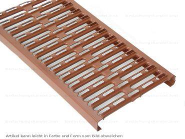 Farbbeschichtet Laufrostgitter 1500mm (1,5m) Laufroste Trittroste Dach – Bild 4