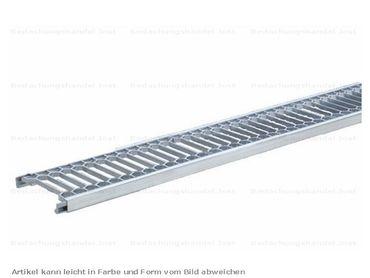 150 00 Alu Endlos-Laufrost mit Steckverb. 1500mm (1,5m) Alu-Natur