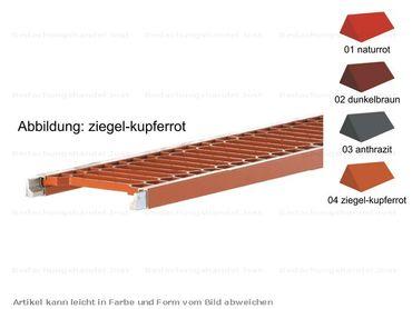 150.. Alu Endlos-Laufrost mit Steckverb. 1500mm (1,5m) Farbe 1-4
