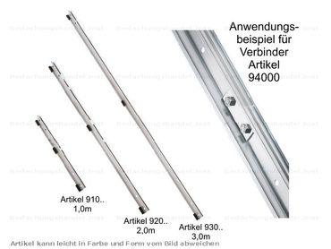 930 00 MultiStep Alu-Schienen-Trägerprofil 3 m Alu-Natur