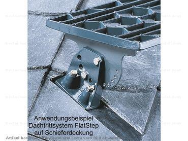 080 00 Flatstep Standrost 80 x 25 cm Alu-Natur – Bild 3