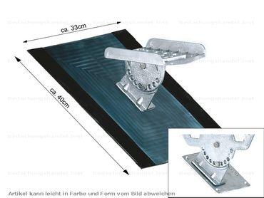 160 00 Flatstep Laufrosthalterung Alu-Natur – Bild 2