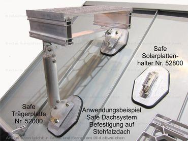 52100 Safe Alu-Ausgleichsplatte 4,5 mm für Stehfalzdächer – Bild 2