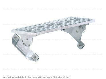 58000 ClipStep Standrost 80 x 25 cm für Stehfalzdeckung Alu-Natur