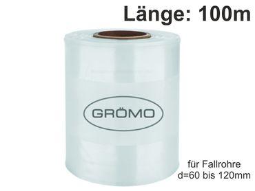 Fallrohrprovisorium für Fallrohr 60-120mm, Länge 100m, 100my