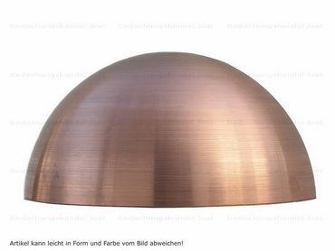 Kupfer Halbkugel rund 325mm ohne Wulst (1 Halbkugel)