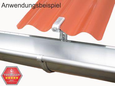 75St verz. Rinnenhalter Trapezblech Wellplatten 6-tlg./333 – Bild 5