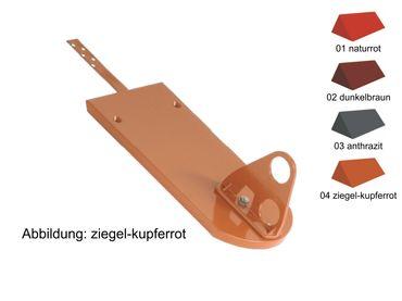 250.. Biberstütze für DoublePipe, Doppelrohrhalterung – Bild 2