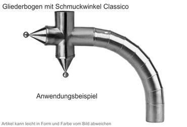 Zink Winkelstück Classico (Einzelstück ohne Gliederbogen)  – Bild 2