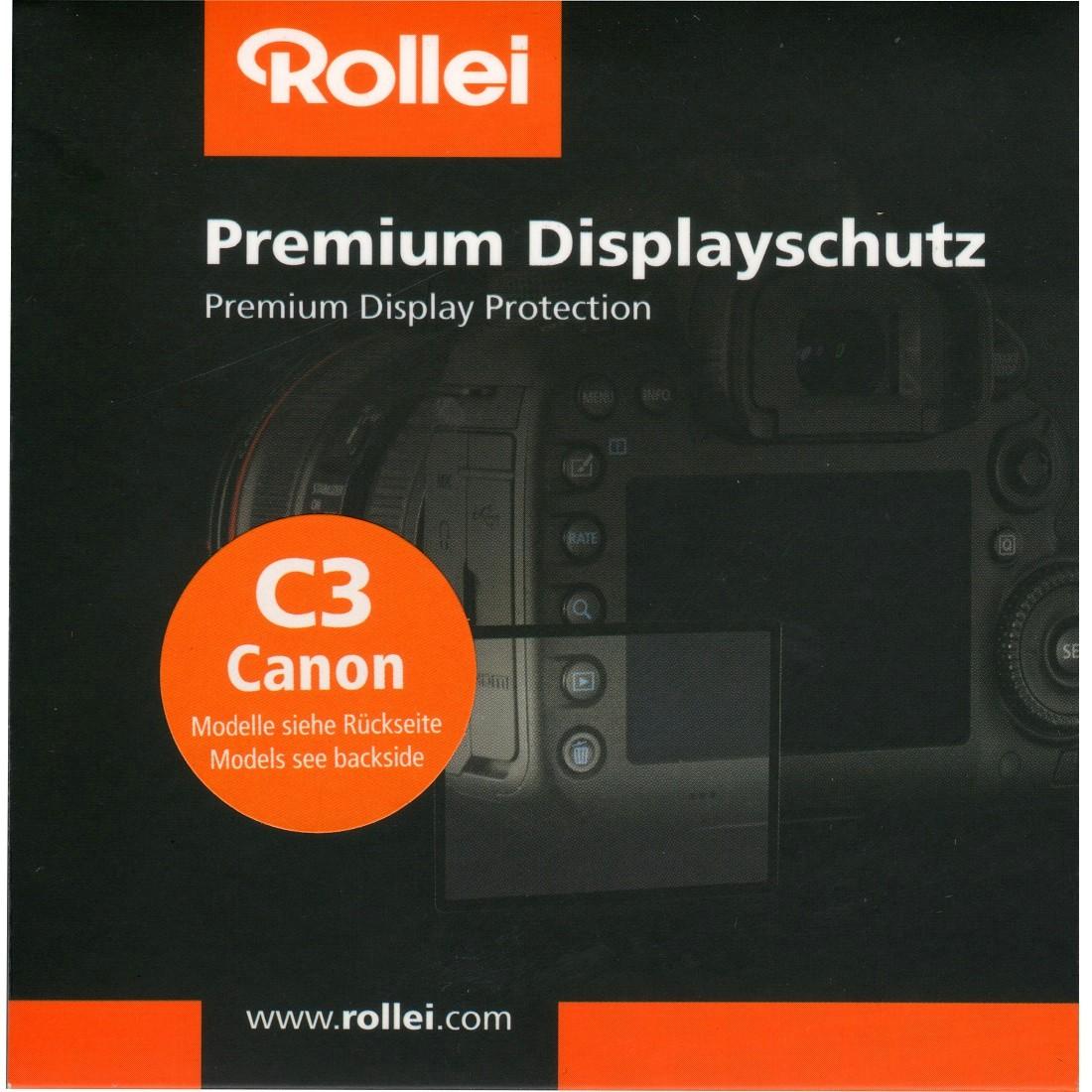 Rollei Premium Displayschutz C3 Canon 6D