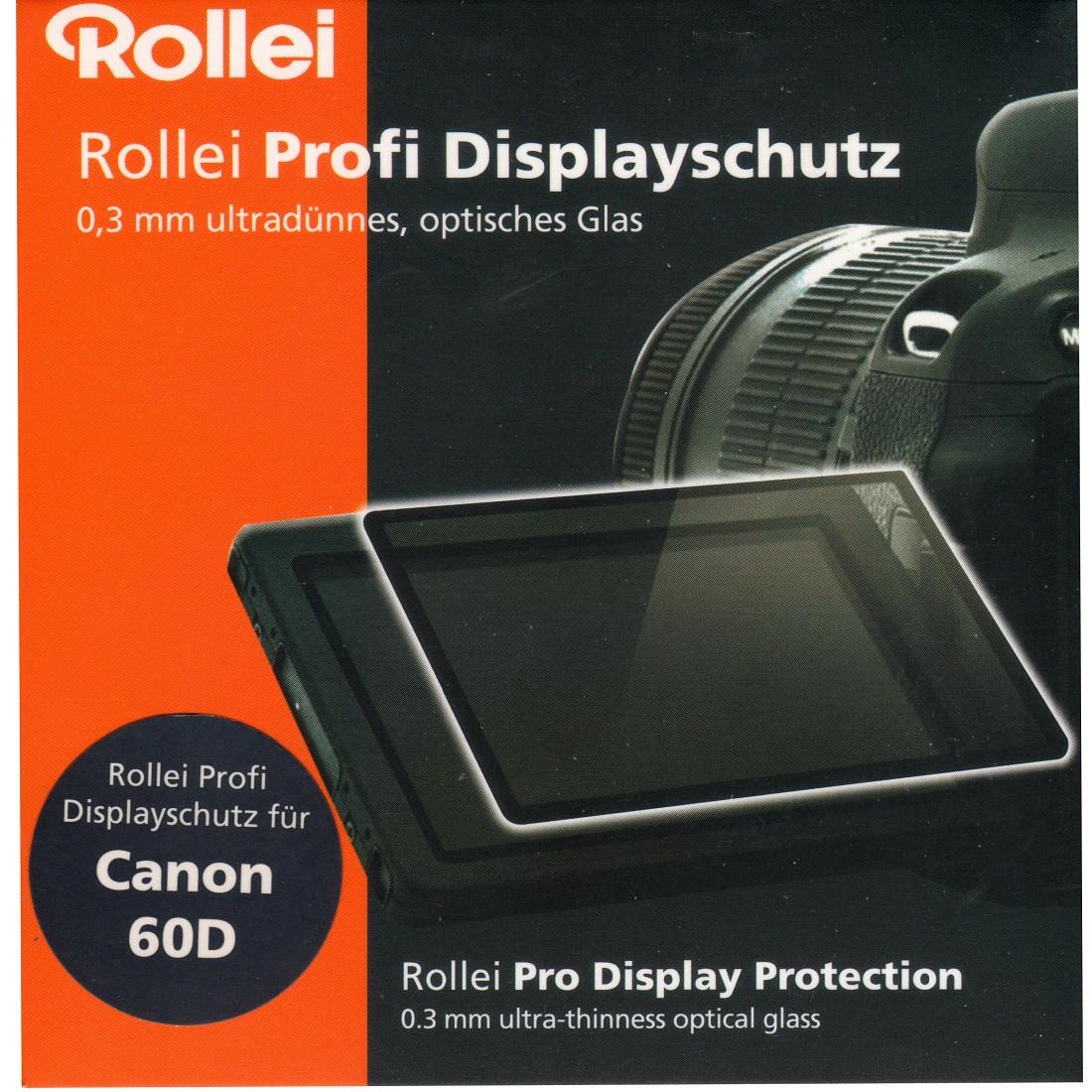 Rollei Displayschutz für Canon 60D