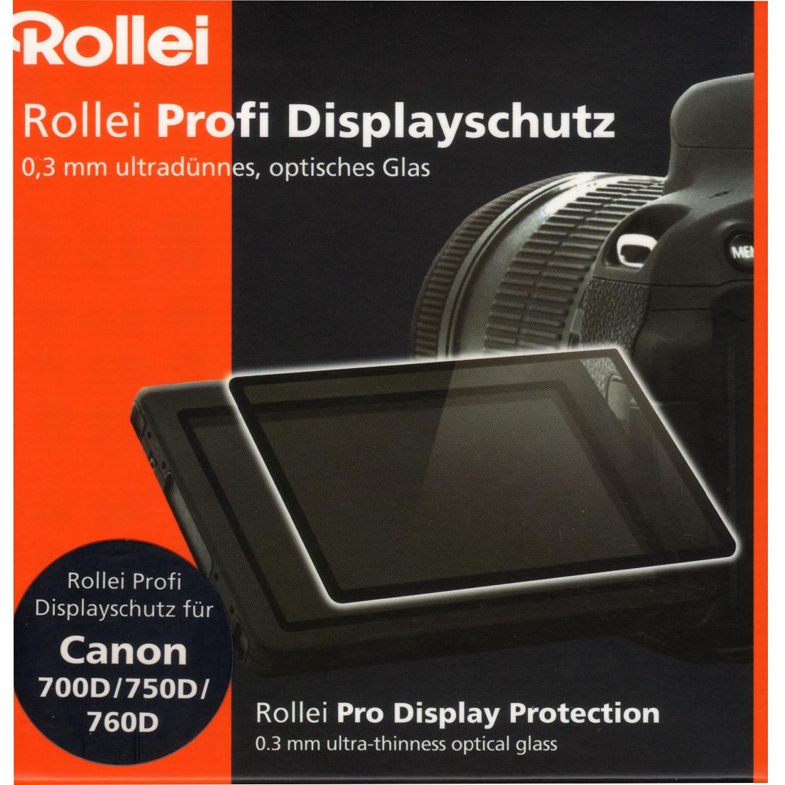Rollei Displayschutz für Canon 700D, 750D, 760D