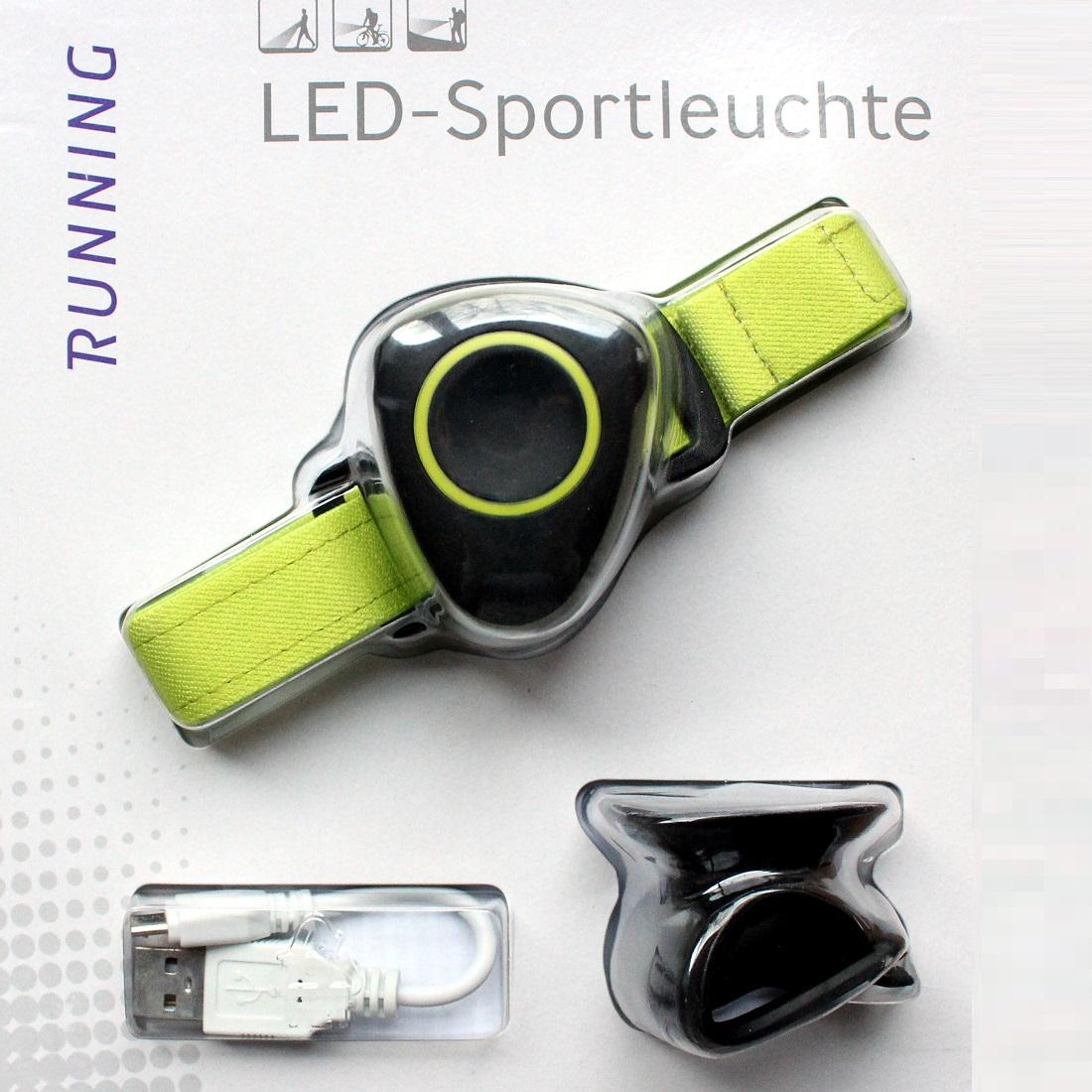 EIE Cree LED-Sportleuchte oder Fahrradlampe mit Akku