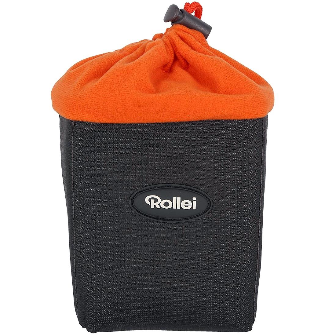 Rollei Lens Cushion Case S Schutztasche für Kamera-Objektive - 7,5 x 7,5 x 12 cm