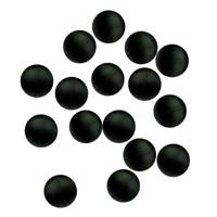 Paladin Gummiperlen schwarz in versch. Größen