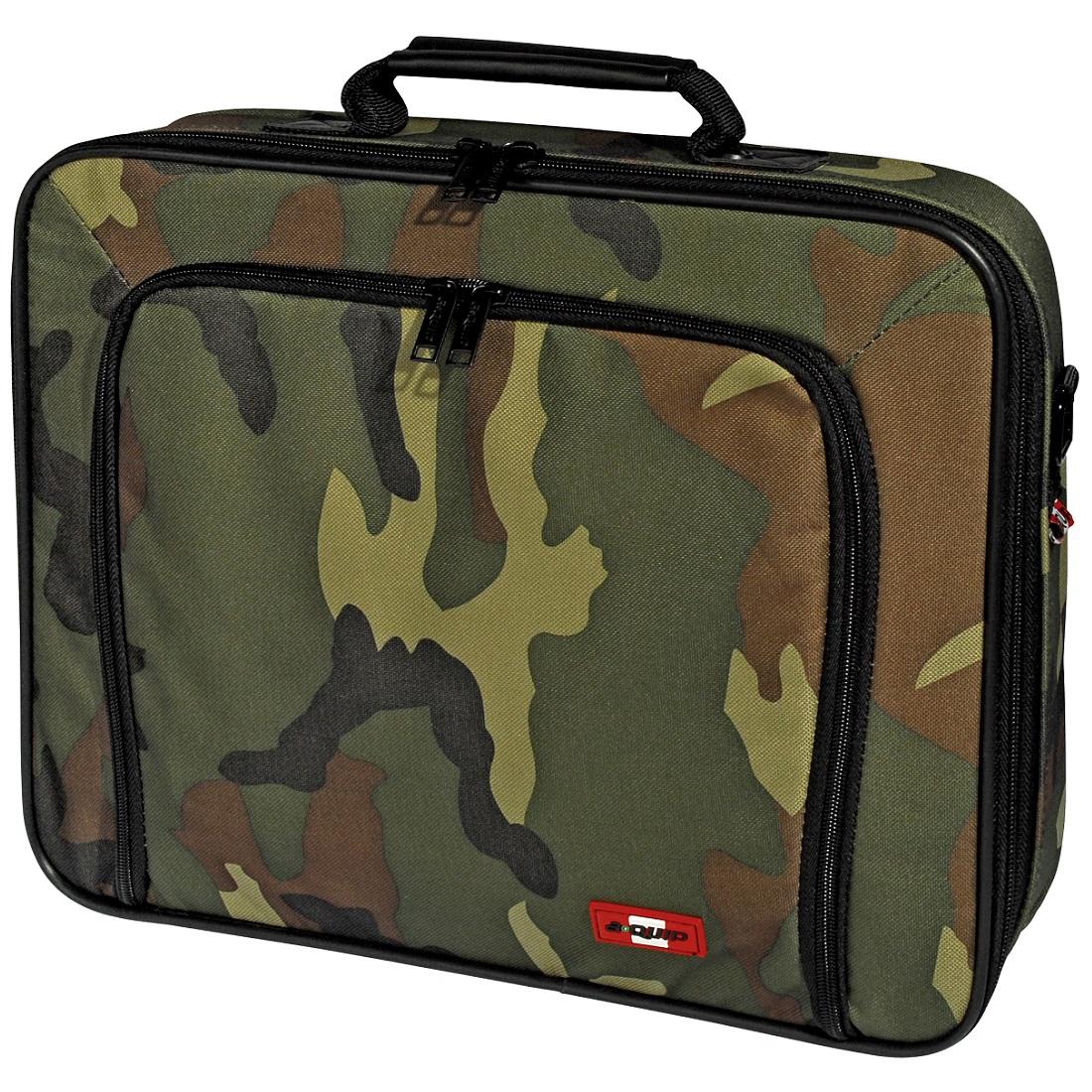 a-quip Notebooktasche Camouflage Edition 15,4 Zoll mit Schultergurt