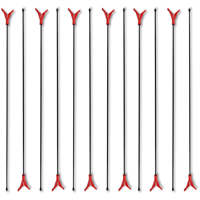 Paladin 12 Stk. Metall-Rutenständer 75 cm