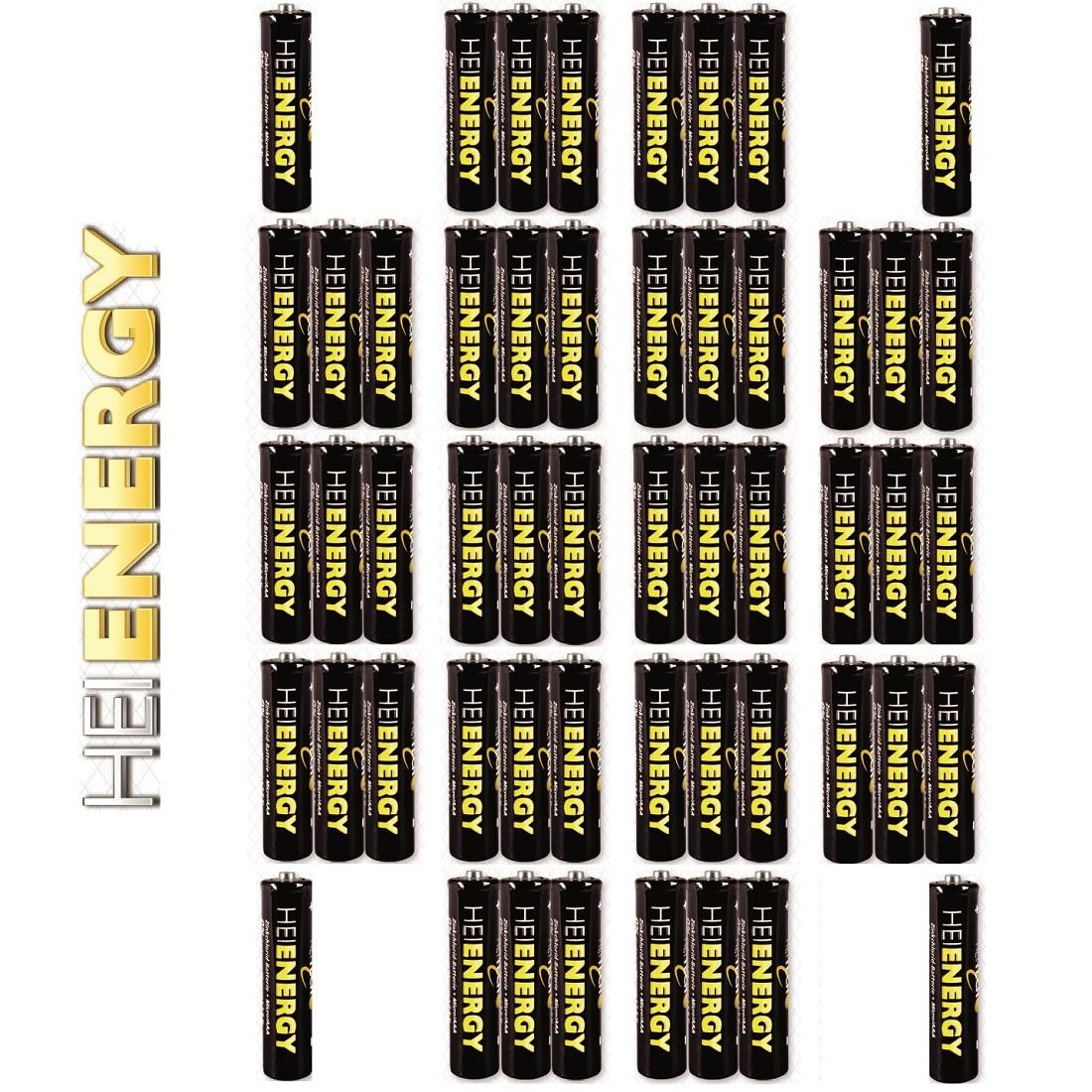 Heitech Zinkchlorid-Batterien Typ Micro AAA 4x 13er-Pack