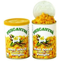 PESCAVIVA Angelmais Vanille (Hellgelb) für Schleie, Karpfen, Brasse und Döbel