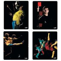 Deja Mauspad Goal Pads - schwedischer Spieler, brasilianischer Spieler, portugiesischer Spieler, rote Karte