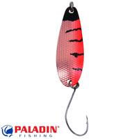 Paladin Trout Spoon III 3,6g schwarz-orange-kupfer/kupfer mit MARUTO® Haken