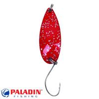 Paladin Trout Spoon IV 1,9g rot-glitter/rot-glitter mit MARUTO® Haken