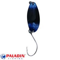 Paladin Trout Spoon V 2,5g schwarz-blau/schwarz mit MARUTO® Haken
