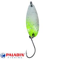 Paladin Trout Spoon VI 2,0g weiss-gelb-glitter/weiss-gelb-glitter mit MARUTO® Haken